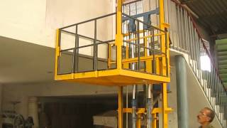 Industrial hydraulic material lift Contact No. +91 9717438003 ,Mr. Anil Saxena