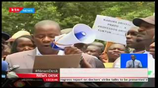 Striking University Lecturers start demonstrations