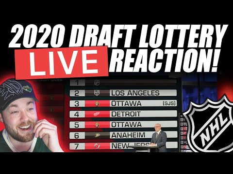 NHL Draft Lottery LIVE Reaction!