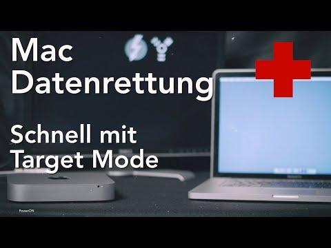 Datenrettung am Mac mit dem Target Mode