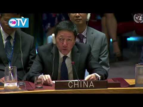 Intervención de China en sesión del Consejo de Seguridad de la ONU sobre Nicaragua