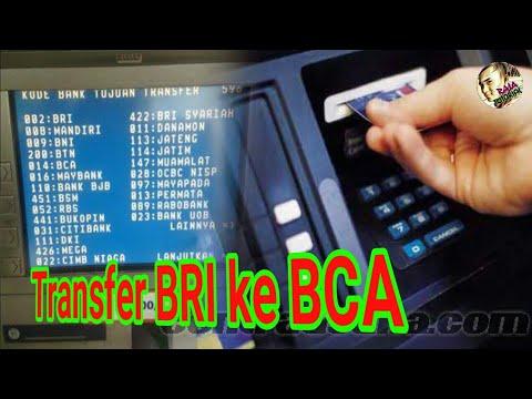 CARA TRANSFER UANG LEWAT ATM BRI KE BCA TERBARU