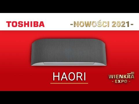 Klimatyzator pokojowy TOSHIBA HAORI | Nowość 2021