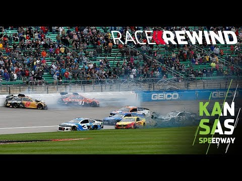 Race Rewind: Playing to the playoff whistle in Kansas | NASCAR at Kansas Speedway