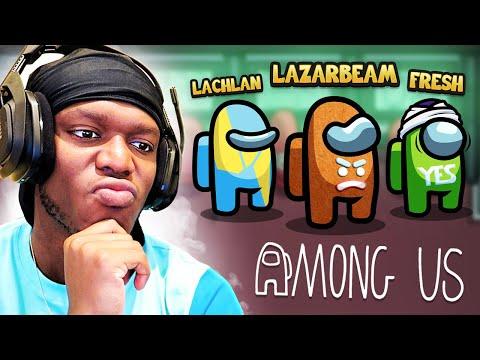 SIDEMEN AMONG US vs LAZARBEAM, LACHLAN & FRESH