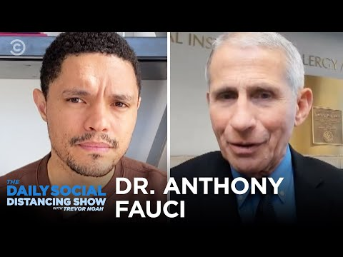Dr. Fauci Answers Trevor's Questions About Coronavirus
