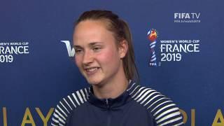 Caroline Graham Hansen – Player Of The Match – Korea Republic V Norway
