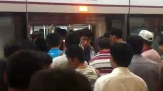 preview picture of video 'Hyperlapse: Beijing subway'