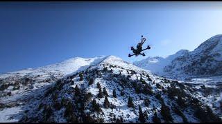 FPV diving the Cretan mountains