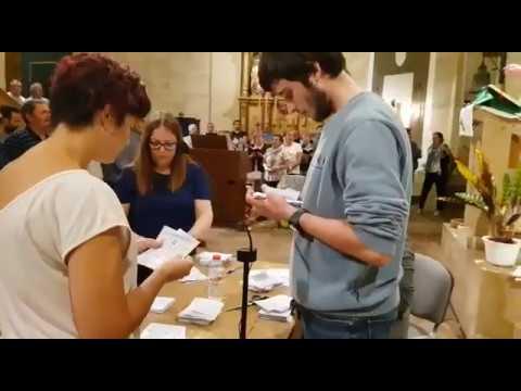 Recompte vots a l'Església de Vilarodona. Referèndum 1-O