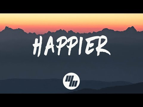 Marshmello - Happier (Lyrics) Ft. Bastille Mp3