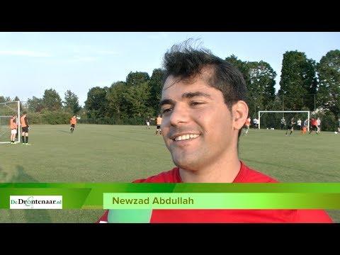 VIDEO | Newzad heeft na niertransplantatie z'n leven terug en voetbalt zelfs weer