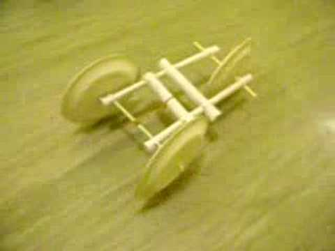 How Do You Make A Paper Car Self Propel With A Rubber Band