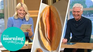 Children's 'Innocent' Drawings Crack Phillip and Holly Up | This Morning
