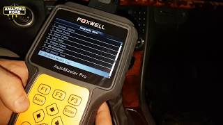 Review and Test FoxWell NT624 Pro Professional Diagnostic Scanner / Reset errors ABS, SRS, SBC