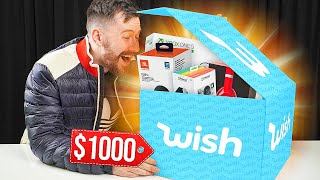 Unboxing A $1,000 Wish Mystery Box!!