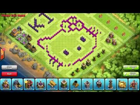 Troll Clash Of Clans Wn Hall Base