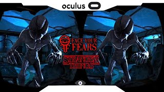SBS 1080p► Stranger Things VR • FACE YOUR FEARS • Sansung Gear VR 2018