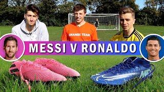 Ronaldo's £260 Boots v Messi's £180 Boots   ft. W2S & Kieran Brown