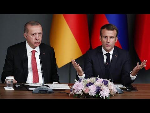 Τηλεφωνική επικοινωνία Μακρόν – Ερντογάν