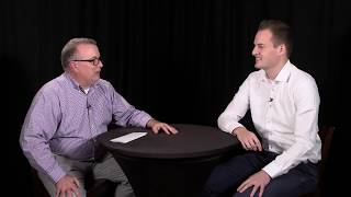 Pepijn van de Kamp (SIG) interviewed at the O'Reilly Software Architecture Conference, London 2018