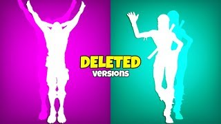 EMOTES That Will NEVER Be RELEASED..! (Deleted Versions) Fortnite Battle Royale