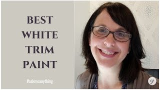 Best White Paint Trim Colour with Green Gray in Interior Decorating