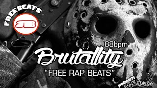 "Base TERROR RAP  ""BRUTALLITY"" 2015 (Free Beat)"