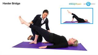 ESCAPE Pain For Backs - Late Stage Exercise Video