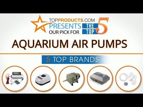 Best Aquarium Air Pump Reviews 2017 – How to Choose the Best Aquarium Air Pump