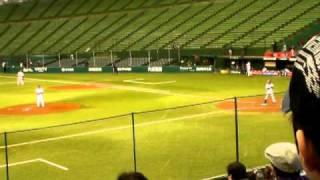 山田弘喜-庄田隆弘2010年プロ野球12球団合同トライアウト@西武ドーム