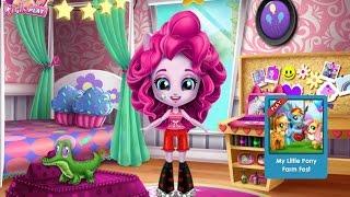 NEW мультик для девочек—Уборка в комнате Пинки Пай—Игры для детей