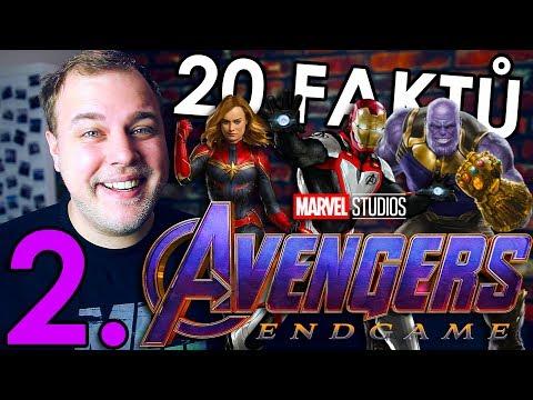 20 FAKTŮ - Avengers Endgame 2. ČÁST