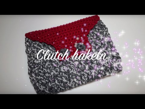 Clutch häkeln - MyBoshi Tahara Clutch Tasche selber häkeln - Häklelmädel