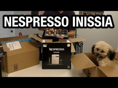 Nespresso Inissia Macchina per Caffè Espresso Unboxing e Test