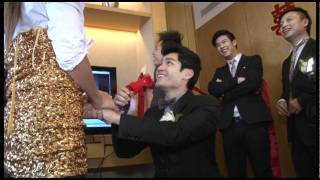 Konnie & Dickson's Wedding 呂慧儀﹠黃文迪結婚特輯 Part 1 ZEUZ.COM獨家採訪