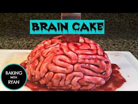 How To Make A Brain Cake Episode 10 Baking With Ryan