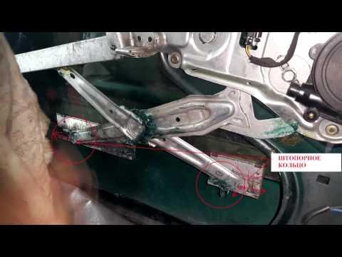 Ремонт стеклоподъемника и как снять дверную карту на BMW E34