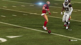 Yr 1 Wk 7: 49ers (3-3) vs Rams (6-0)