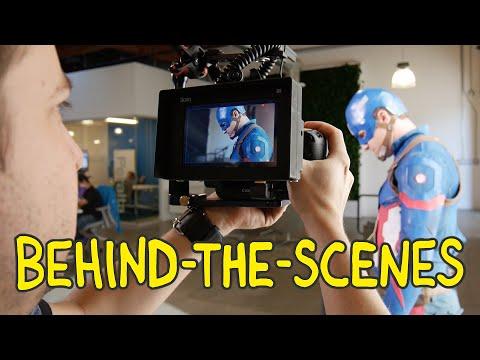 Captain America: Civil War - Homemade Behind the Scenes