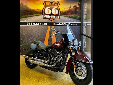 Billiard Burgundy 2020 Harley-Davidson® Heritage Classic 114