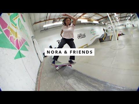 TWS Park: Nora Vasconcellos and Friends   TransWorld SKATEboarding