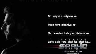 Psycho Saiyaan   Saaho   Hindi Sachet Tandon, Dhvani Bhanushali, Tanishk Bagchi