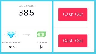 How to find your TikTok Wallet (diamond balance) and withdraw cash!