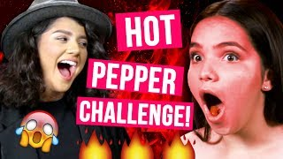 KISSING XAVIER?! | HOT PEPPER CHALLENGE w/ LIFE AFTER QUINCE SHANY and AIRAM