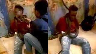 Viral Video Interogasi Pencuri Pakai Ular, Mabes Polri Beri Tanggapan