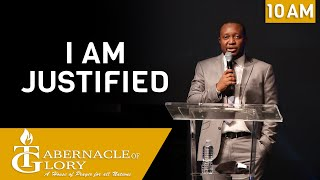 Brother Junior Charles |  Am Justified | Tabernacle of Glory | 10 AM