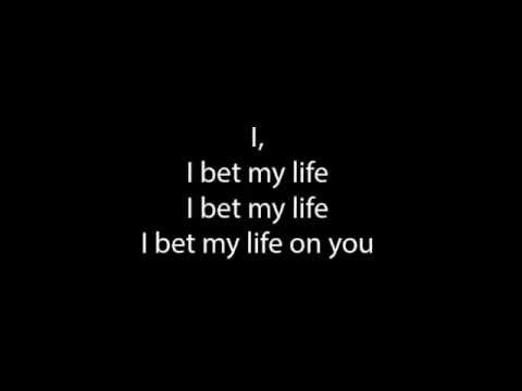If only today i bet my life lyrics run line betting baseball