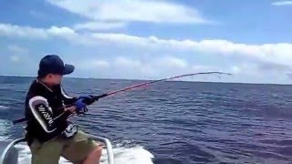 PSFL Free Gaffing Tuna video