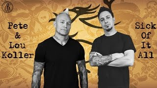 Tattoo interview with Pete & Lou Koller – Sick Of It All